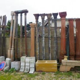 Ea-Pilier pierre et fonte