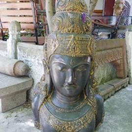 O- Tête Bouddha